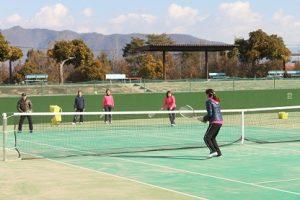 フレンドリーテニスの様子03