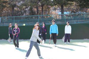 フレンドリーテニスの様子01