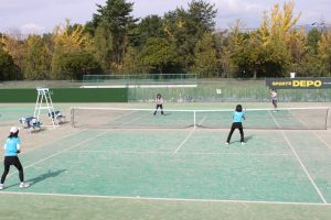 テニスの部の様子