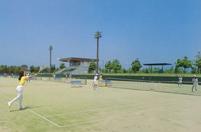 テニス場外観写真